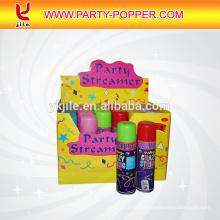 Bunte dumme Schnur-Spray-Party-verrückte Schnur
