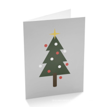 Cartoon Art Paper Custom Holiday Greeting Card Printing