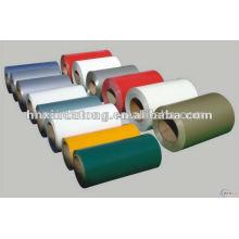 A8011 stucco/diamond pattern color coated embossed aluminium sheet