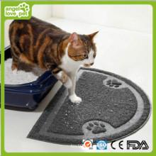 Tapete do gato do PVC, produtos do animal de estimação, esteira do cão