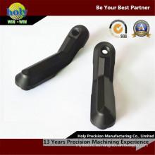 Piezas de aluminio del CNC de las piezas de aluminio del CNC del soporte del dedo que trabajan a máquina