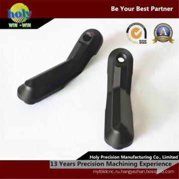 Кронштейн палец алюминиевой части CNC частей CNC подвергая механической обработке