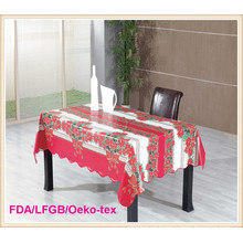 Christmas Style PVC Tablecloth/ Table Cover in Roll Wholesale