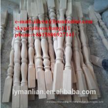rampe en bois chinoise