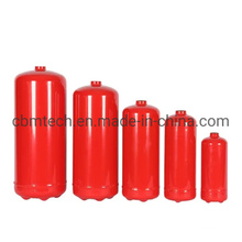 En3 Certified Empty ABC Fire Extinguisher Red Cylinders