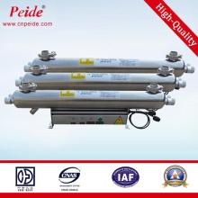 230V60Hz Pneumatic Clean Ss304 Agua potable Gabinete de desinfección UV