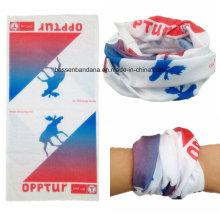Custom Made Design impresso poliéster Multifuncional sem costura Buff Headband