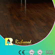 Commercial 12.3mm E0 HDF AC3 Embossed Oak V-Grooved Laminated Flooring