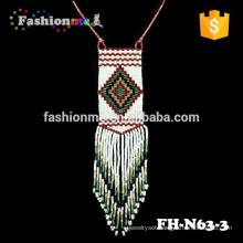 2015 latest design Japanese seed beads necklace