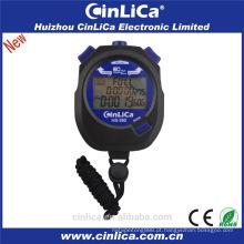 HS-260 venda quente barato 3 linhas de grande exibição 1 / 1000s digital cronômetro de esportes
