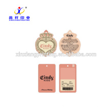 Customized Color!Custom Premium Cardboard Color Print Hangtag Clothes Tag