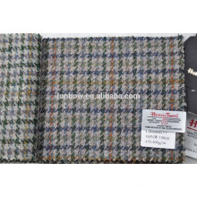italian houndstooth tweed fabric