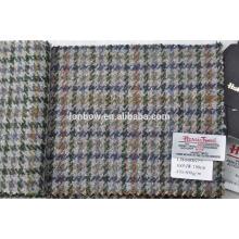 tecido de tweed italiano houndstooth