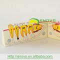 Modelo da seção de duas partes de Sagitally da ligação do ímã EN-M9 para a educação
