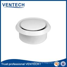 Difusor de aire de la válvula de disco plástica del aire fresco para el sistema de la HVAC