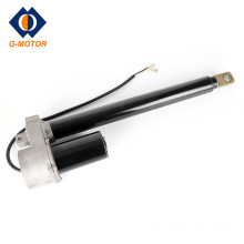 Electric linear actuator for basketball stands lift system