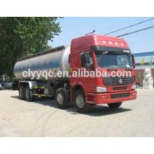 Semirremolque semirremolque de combustible de 3 ejes, semirremolque cisterna de cemento a granel