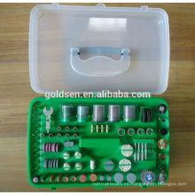 135w 217pcs conjunto de accesorios ETL GS CE pulido / pulido / lijado portátil Hobby Artesanía Power Grinder Kits Mini eléctrica Rotary Tool