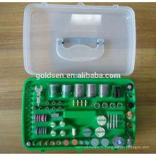 Ensemble d'accessoires 135w 217pcs ETL GS CE Rectification / polissage / ponçage Kit d'outils de manutention portative Hobby Craft Mini outil rotatif électrique