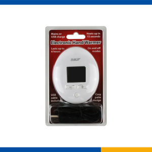 Digital display USB hand warmer