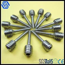 Vis cylindrique à six pans creux cylindriques en acier inoxydable