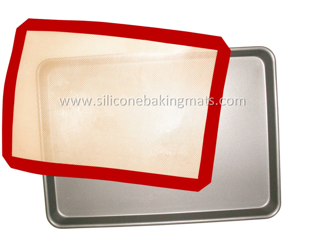 Baking Mat And Aluminum Baking Pan Set