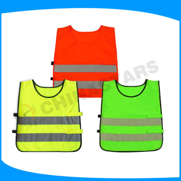 100% breathable soccer training vest for children