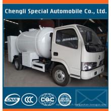 5500litres 2.3tons Dongfeng gaz de cuisson camion de gaz de remplissage