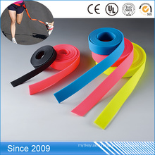 Waterproof Solid Rubber PVC Coated Webbing For Dog Collar