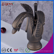 Faucet da bacia do cisne de Fyeer Blackened