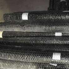 PVC revestido Hexagonal Fibra de arame Fences / Chicken Fence