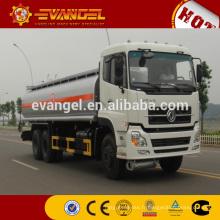 Dongfeng marque 6x4 20000L huile / réservoir de carburant camion vente