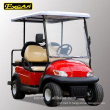 2 sièges avant plus 2 sièges arrière pas cher chariot de golf électrique à vendre
