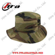 Marpat Woodland Camouflage Army Camo Bucket Hat Fish Man Chapeaux