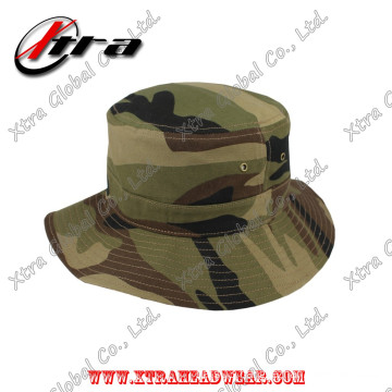 Marpat Woodland Camouflage Army Camo Bucket Hat Fish Man Hats