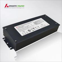 UL listó fuente de alimentación dimmable de 12 voltios 25A de 300 vatios 25A 120V 240V 277V AC con la caja de conexiones