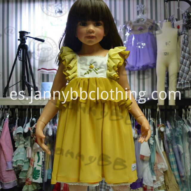 kids embroidery dress