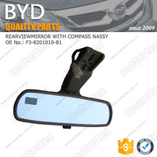 ORIGINAL BYD F3 spare Parts REAR VIEW MIRROR BYD-F3-8201010-B1