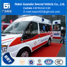 Carro da ambulância, Ambulância médica da ambulância do trânsito do carro da ambulância para a venda Carro da ambulância, ambulância médica da ambulância da emergência do trânsito da FORD do veículo para a venda