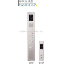 Panneau de commande de voiture d'ascenseur, COP standard