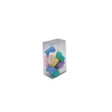 Caja de embalaje de acetato transparente de PVC de plástico pequeño