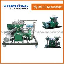 Compresseur de diaphragme Compresseur d'oxygène Compresseur d'azote Compresseur d'azote Compresseur de hélium Compresseur haute pression (Gv-25 / 4-150 CE Approbation)