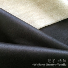 Printed Leather 100% Polyester Suede Compound Fabric