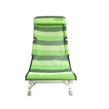Calidad patentes ligero plegable silla de Camping al aire libre plug-in