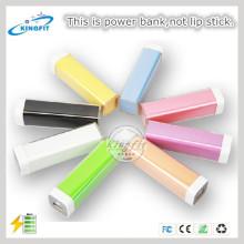 Hot! Universal Lipstick Power Bank Charger 2200mAh