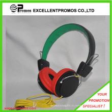 Лучшие громкие дешевые красочные проводные наушники, хорошие звуковые гарнитуры (EP-H9092)