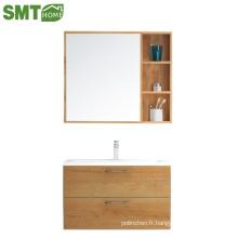 Prix bon marché de bassin de miroir de cabinet de salle de bains d'hôtel / à la maison PB pour la vente