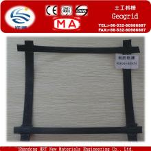Geomalla plástica de acero para refuerzo de muro de contención en venta