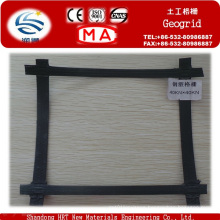 Steel Plastic Geogrid for Retaining Wall Reinforcement on Sale