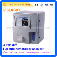 Hospital Full-auto Blood testing Analyzer MSLAB07i, full auto 3-part Differentiation hematology Analyzer